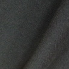 Ткань Габардин черный шир.150 см (35м. в рул)