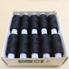 Нитки 45 ЛЛ черный(200м)