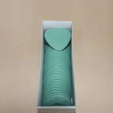 Мел восковой овальный зеленый (30 шт в кор)