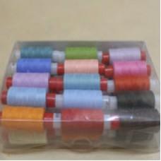 Нитки 45 ЛЛ цветные  (200м)