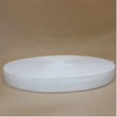 Лента окантовочная 22 мм белая\0101 ( 100 м )
