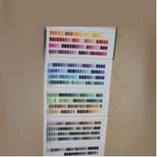 Карта цветов швейных ниток 45 ЛЛ 70 ЛЛ