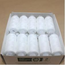 Нитки 45 ЛЛ белые (200м)