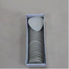 Мел восковой овальный белый  (30 шт в кор)