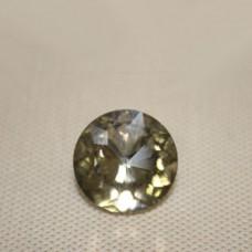 Страза COL 10-25 мм (золотой круг ) 550 шт