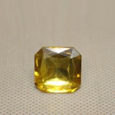 Страза COL 3-20 мм (желтый квадрат) 900 шт