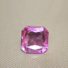 Страза COL 4-20 мм (св. розовый квадрат ) 900 шт