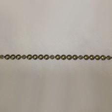 Молдинг 100 1\3 Old Gold, диам.9.6 мм (крепление гвоздь)