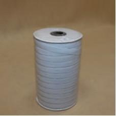 Резинка трус.10*100 м.  на бобине белая