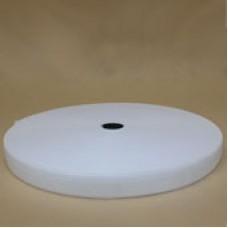 Резинка 20 мм. белая (25м в рул)