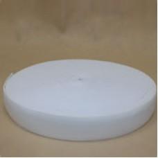 Резинка 30 мм. белая (40м в рул)