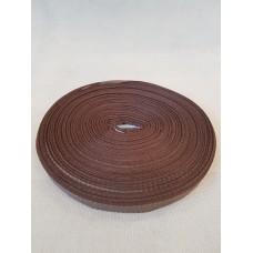 Тесьма брючная коричневая ( уп. 50 м)