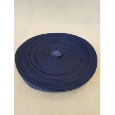 Тесьма брючная синяя ( уп. 50 м)