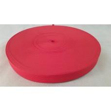 Лента окантовочная 22 мм красная №113 / 285 (100 м)