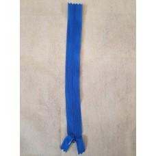 Молния №5 потайная 20 см (голубая)