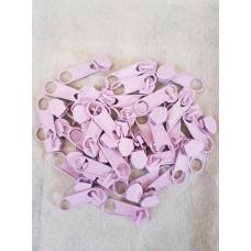 Бегунок к рулонной молнии розовый 377 (100 шт)