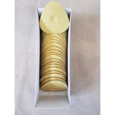 Мел восковой овальный желтый (30 шт в кор.)