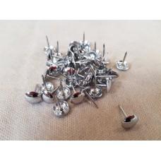 Гвоздь декоративный никель d 9,5