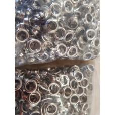Люверсы №5 8мм (500 шт в упаковке)