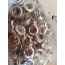 Люверсы 9 мм (100 штук в упаковке)