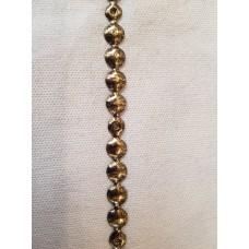 Молдинг 100 1/3 Старое золото, диаметр 10.6 мм (крепление гвоздь)