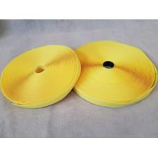 Липучка 25мм №008\606 (желтый)