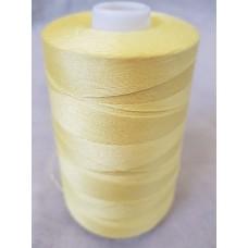 Нитки 70 АП\ПМ швейные армированные №123 светло-желтые (10 шт в упак.)