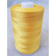 Нитки 70 АП\ПМ швейные армированные №126 желтые (10 шт в упак.)