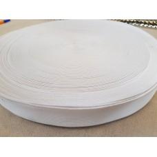 Резинка 30 мм. белая (100 м в рул.)